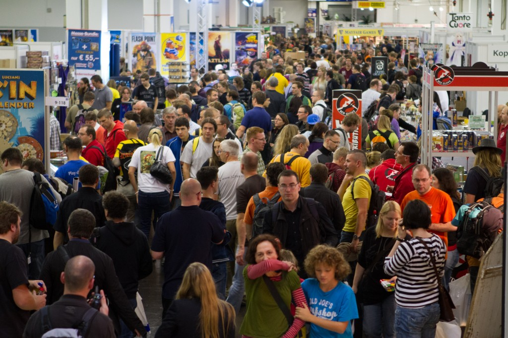 A typical day at The Spiel. Image borrowed from Bo Jørgensen @Flickr.