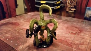 Marvel character Shuma-Gorath incarnated as a Heroclix figure. Photo CC Ibrahim Yucel.
