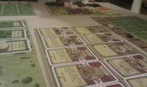 Cards from the Agricola board game. Photo CC 18r @flickr