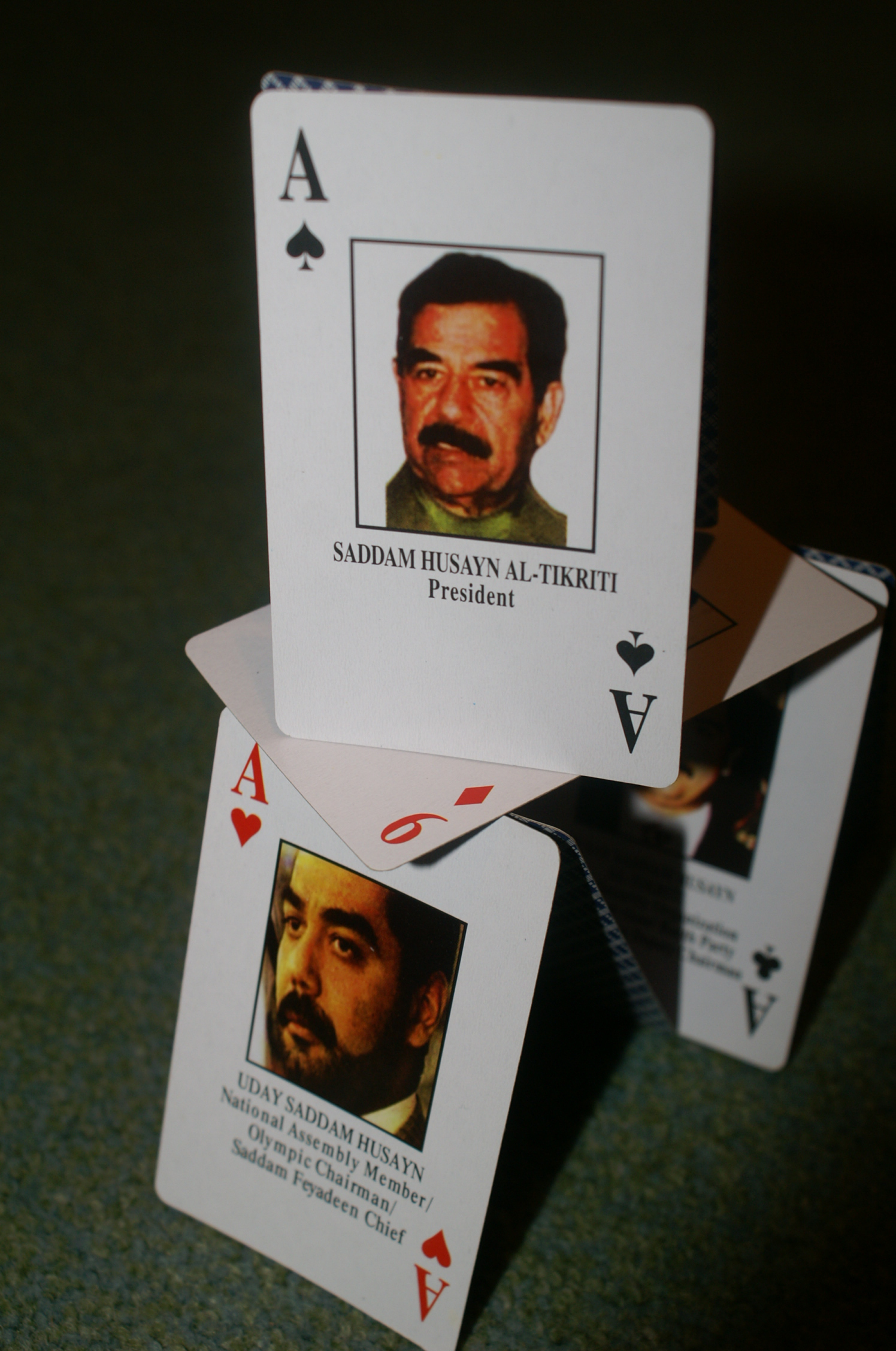 """Most Wanted"" cards. Photocredit: Tim Ellis CC BY-NC."