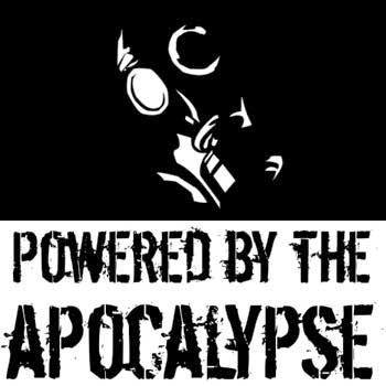 Powered by the Apocalypse. Image credited to Vincent Baker, via David Guyll.