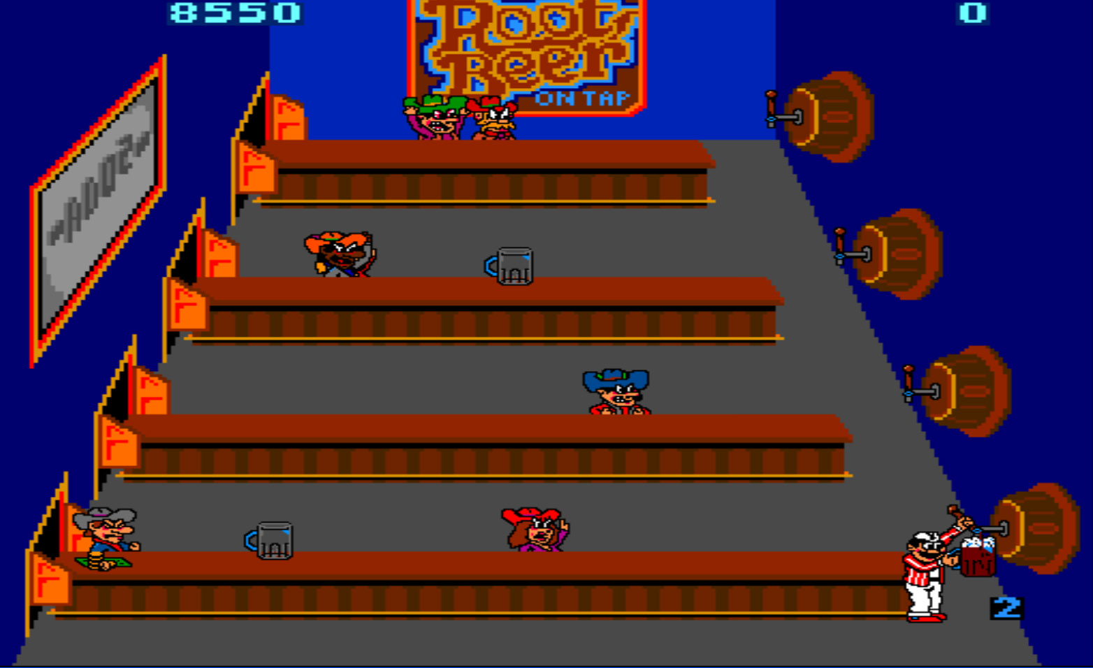 Tapper (Bally Midway, 1983)