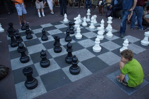 """""""Classic"""" games like chess are games of emergence. """"chess master"""" by Floris Looijesteijn. @Flickr"""