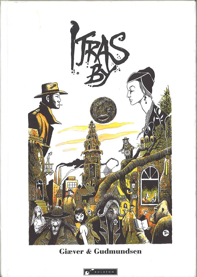 Cover of the Itras By RPG. Design by Thore Hansen