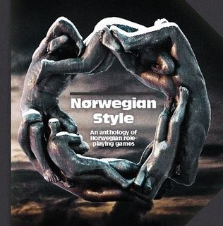 Norwegian Style book in English. Cover design by Håken Lid.