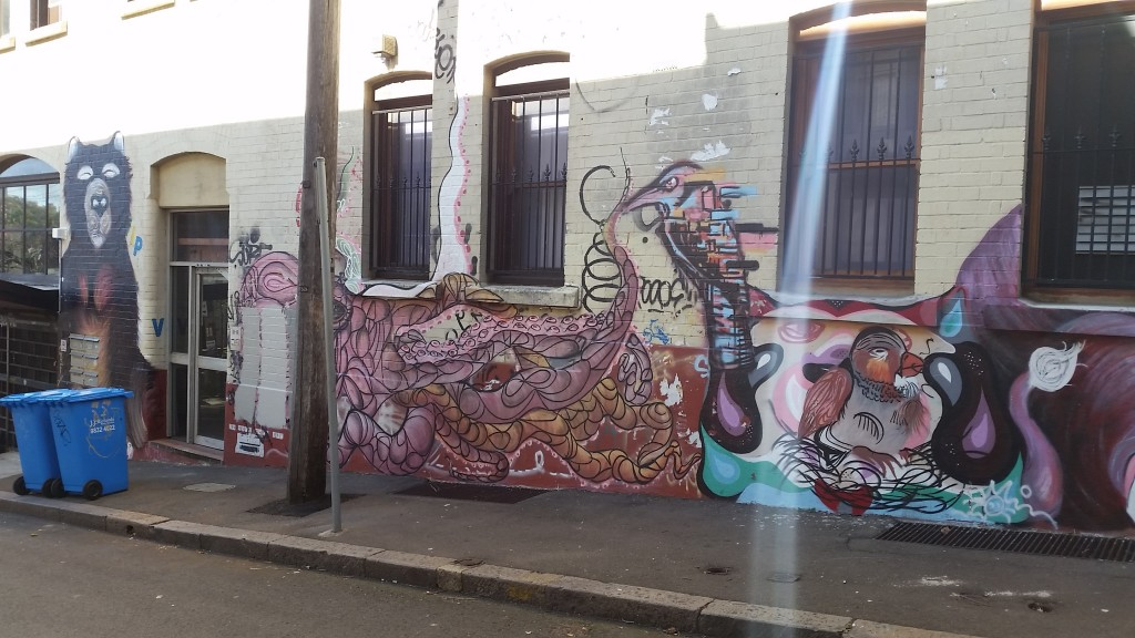 Sydney street art that is also an Ingress portal. Image used with permission of the author.