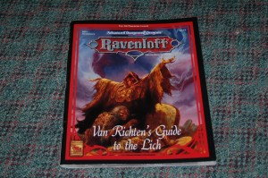 A vintage Ravenloft supplement. Image by Alexandre Lemieux @Flickr CC BY-NC.