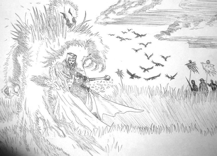 Fan art of Ravenloft. Image by slopesmg @deviantart CC BY.