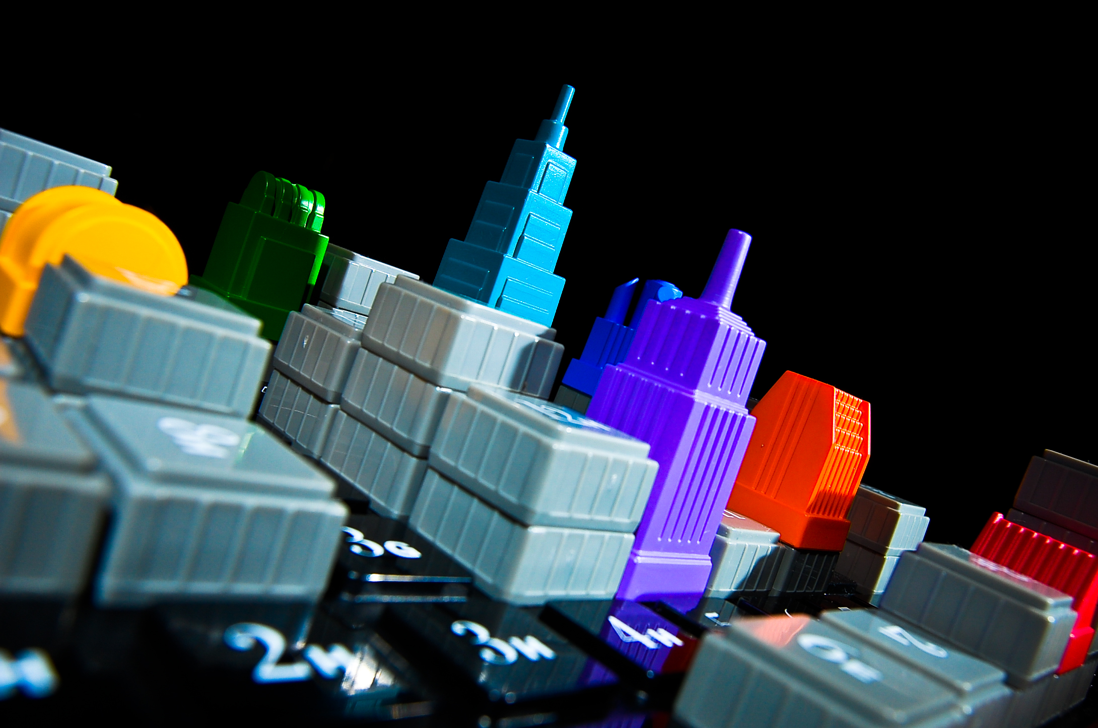 Games like Acquire encourage us to play as capitalists. Image by Ryan Hyde @Flickr CC BY-SA.