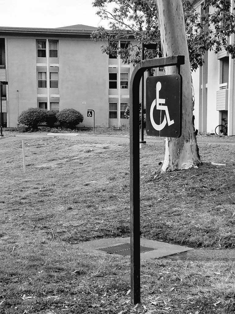 Figure 4 - A disability sign. Image provided by the author.