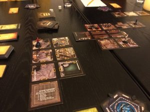 Game play of Betrayal at House on the Hill