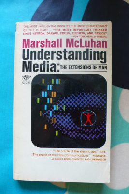 Book cover of McLuhan's Understanding Media