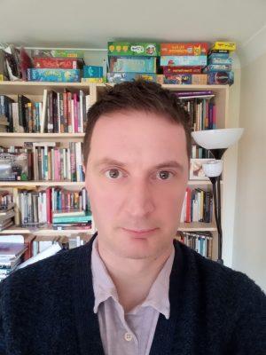Jonathan Evans headshot