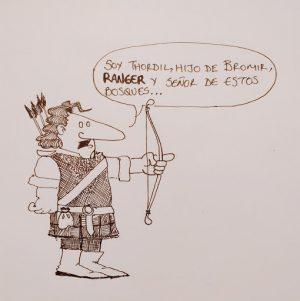 Figure 1: A ranger, rather than a Montaraz