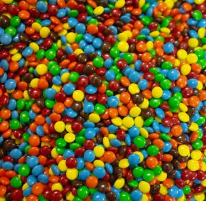 An image of M&Ms candies